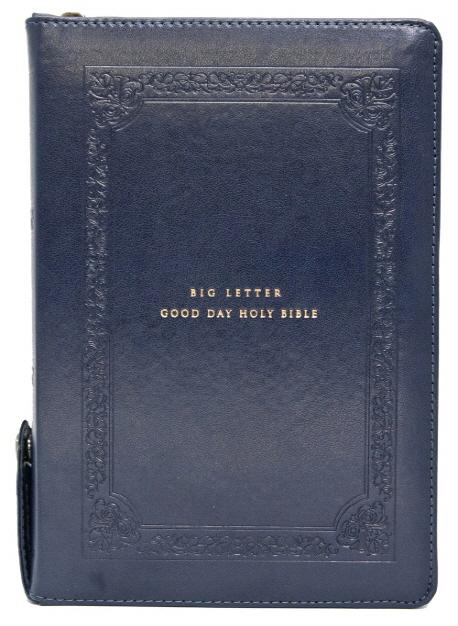 큰글자 굿데이 성경전서(네이비)(중합본)(NKR72WBU)(색인)(개역개정)(새찬송가), 생명의말씀사