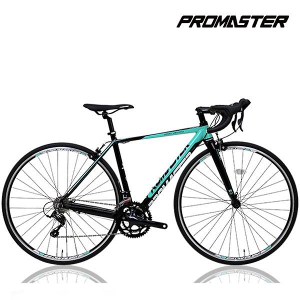 프로마스터 로드자전거 케라스R 소라18단 카본포크, 케라스R18 (450)블랙+레드 미조립