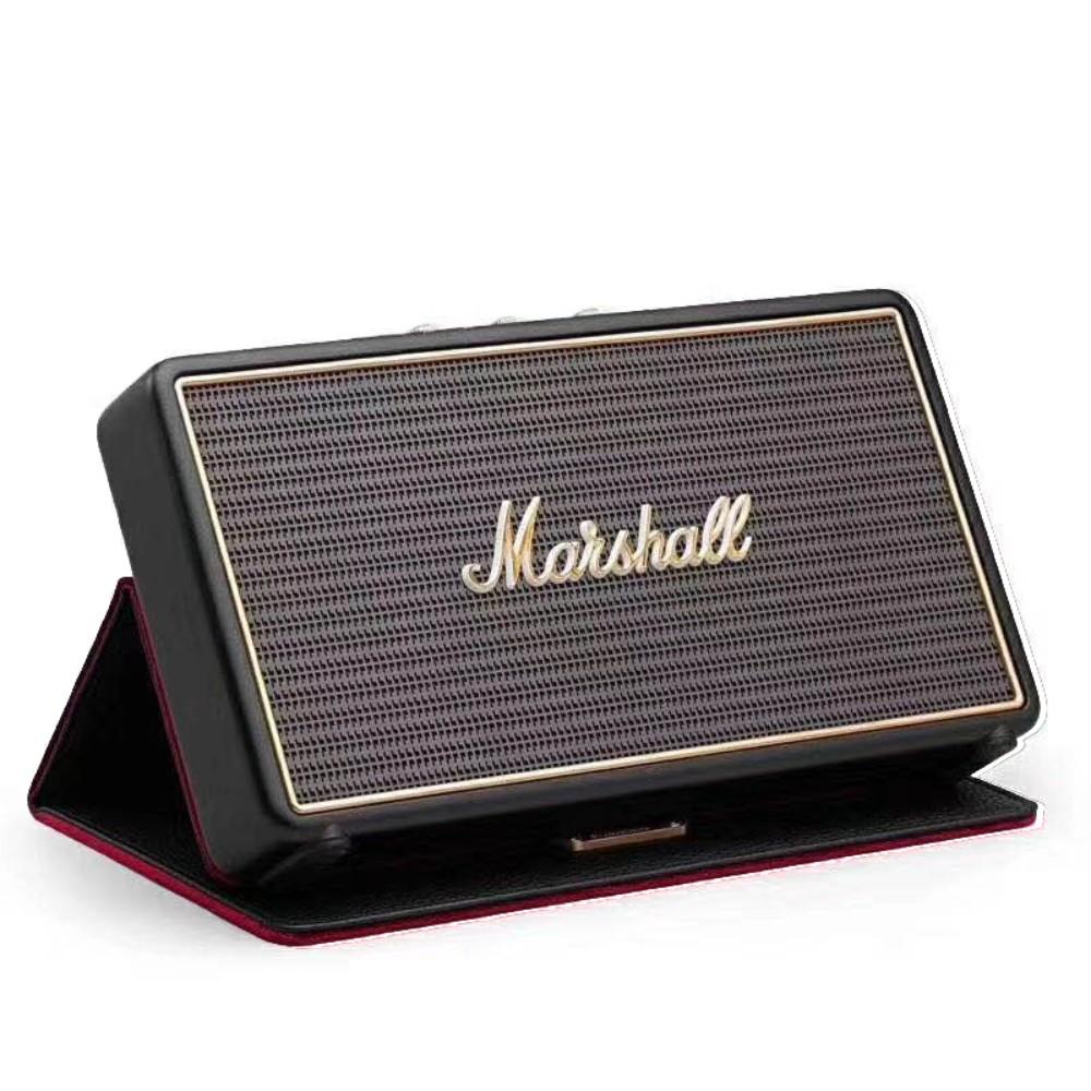 마샬 스톡웰 1 스톡웰2 1세대 2세대 휴대용 무선 블루투스 스피커, Stockwell+가죽케이스+오디오케이블, 표준