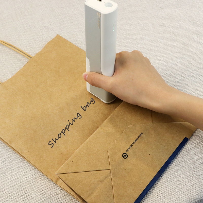 초소형 핸드 프린터 제조일자 유통기한 그림 컬러 잉크젯 소형잉크젯, 미니 프린터 (형광잉크포함)_공식 표준