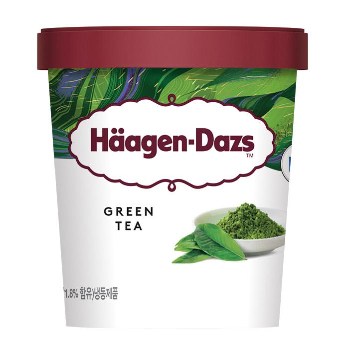 하겐다즈 녹차 파인트 아이스크림, 473ml, 1개