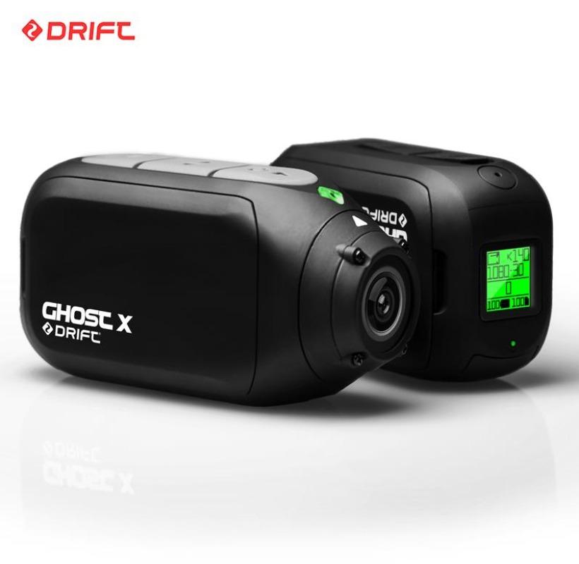 드리프트 고스트X 방수 액션캠 자전거 바이크 블랙박스 카메라, 표준 구성