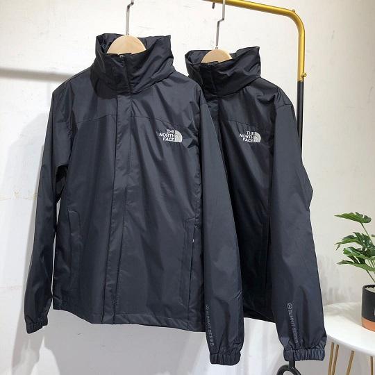 노스페이스 남성 얇은 기모 방수 바람막이 자켓