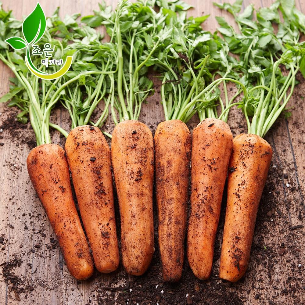 조은먹거리(2020) 국내산 흙당근 제주햇당근 3kg 5kg 10kg, 1박스, 흙당근(왕)-3kg