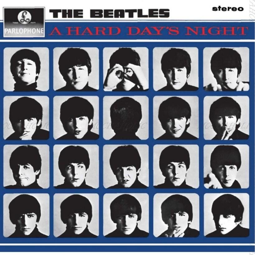 비틀즈 레코드 LP 판 The Beatles- A Hard Day's Night 앨범