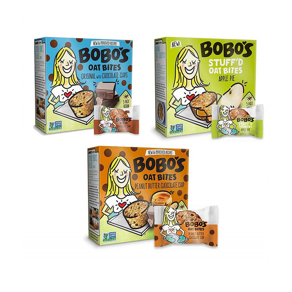 보보스 오트 바이트 3가지맛 버라이어티 팩 30팩 Bobos Oat Bites Variety Pack