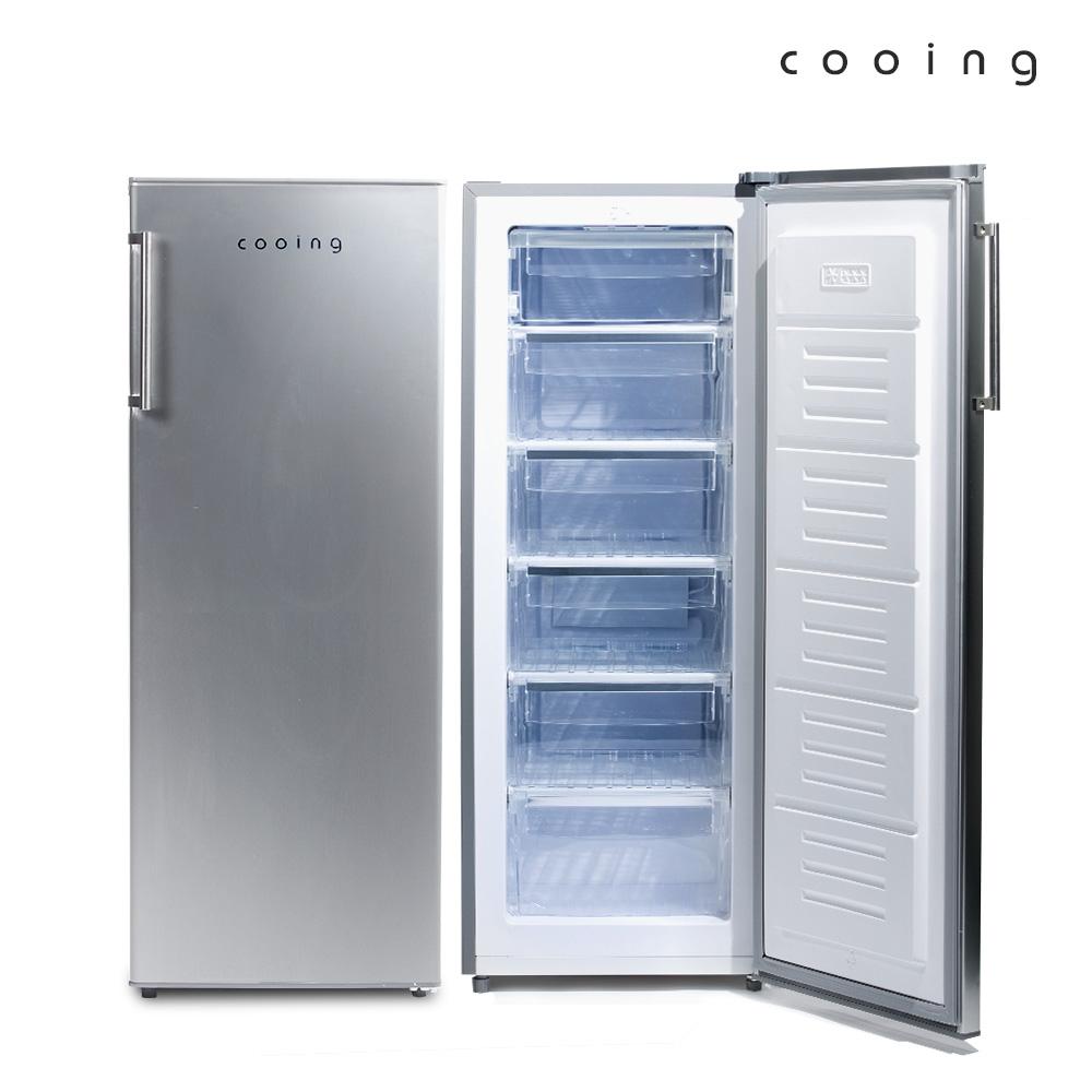 쿠잉 냉동고 /쾌속형/서랍식/FR-191SS/소형/미니/164L, 단품