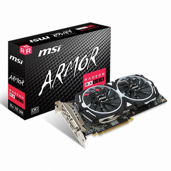 MSI 라데온 RX 580 아머 OC D5 8GB, 선택하세요