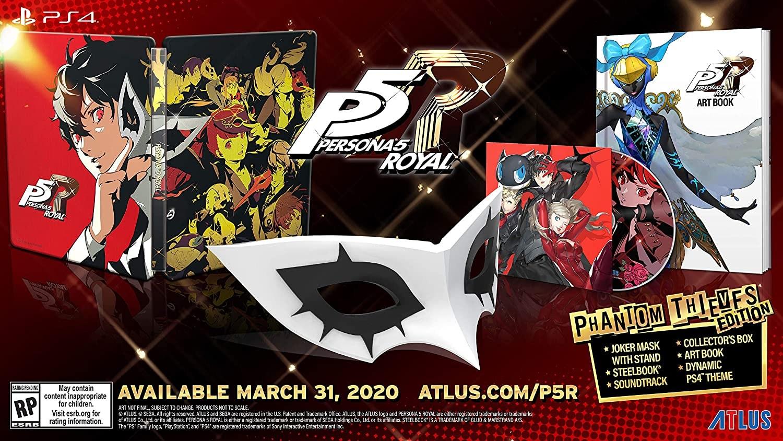 1.예상수령일 2-6일 이내 Sega of America (World) Persona 5 Royal : Phantom Thieves Edition (수입 판, One Color_One Size, 상세 설명 참조0, 상세 설명 참조0