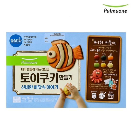 [K쇼핑][풀무원]토이쿠키만들기 300g (신비한 바닷속 이야기), 단일상품