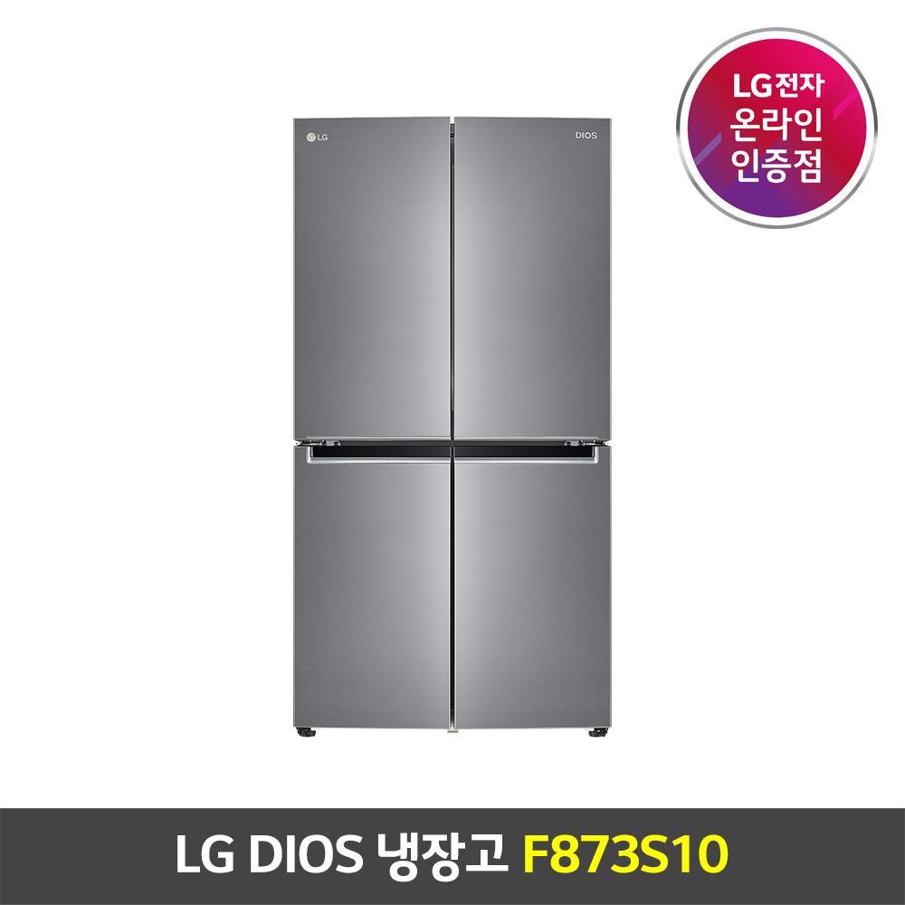 LG전자 디오스 4도어 냉장고 F873S10 LG물류설치/폐가전무료수거 (POP 5548558471)