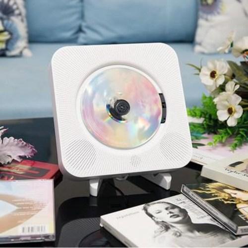 벽걸이 시디 플레이어 CD 가정용 dvd 고화질 vcd 벽형 영어, 10 화이트 CD 머신 (POP 5452204898)