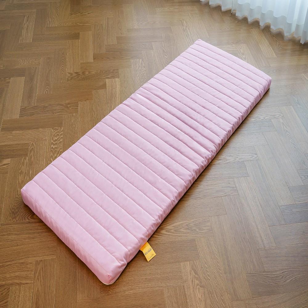 더블레스원 에코스마트 벨라 매트리스, 블로썸 핑크 (고정용 밴드 추가)