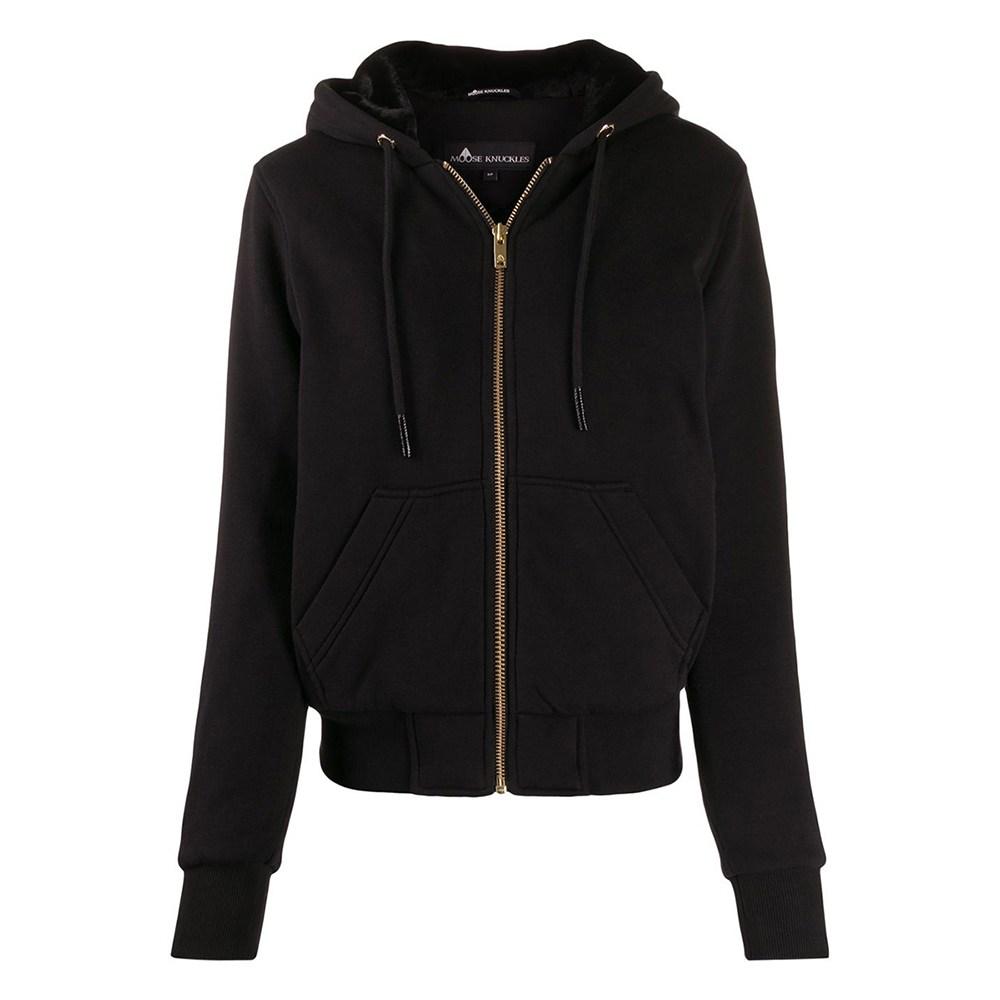 무스너클 미국정품 20FW 여성 골드 버니 스웨터 블랙 M39LS631G 292