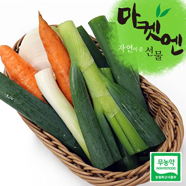 [마켓엔] 친환경 무농약 대파 2kg 4kg / 비린내는 잡아주는 대파, 무농약 대파 4kg