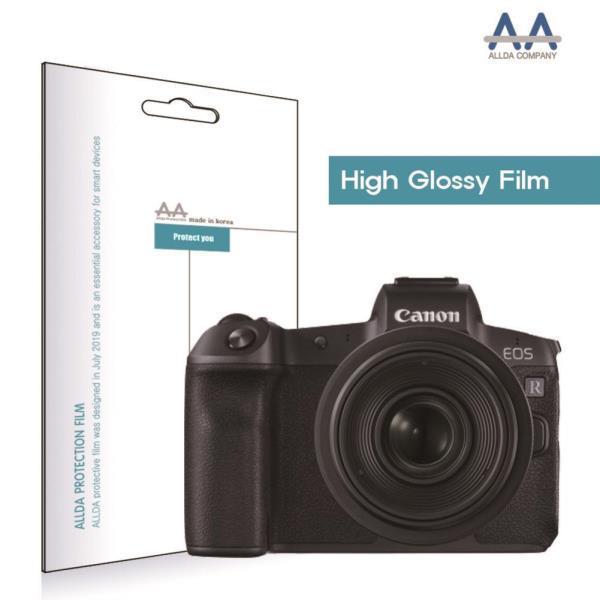 캐논 R 전면1장 상판1장 EOS 고광택 보호필름 카메라고광택필름 EOSR고광택필름, 단일옵션