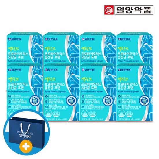 일양 액티브 프로바이오틱스 모유유래 유산균 8박스 쇼핑백포함, 상세설명 참조, 없음