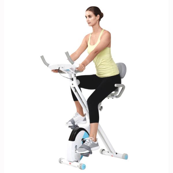 가정용 회전 실내 자전거 접이식 재활 장비 여성 미니 운동 체중 감량 다이어트, 등이없는 아메리칸 블랙-24-4730187251