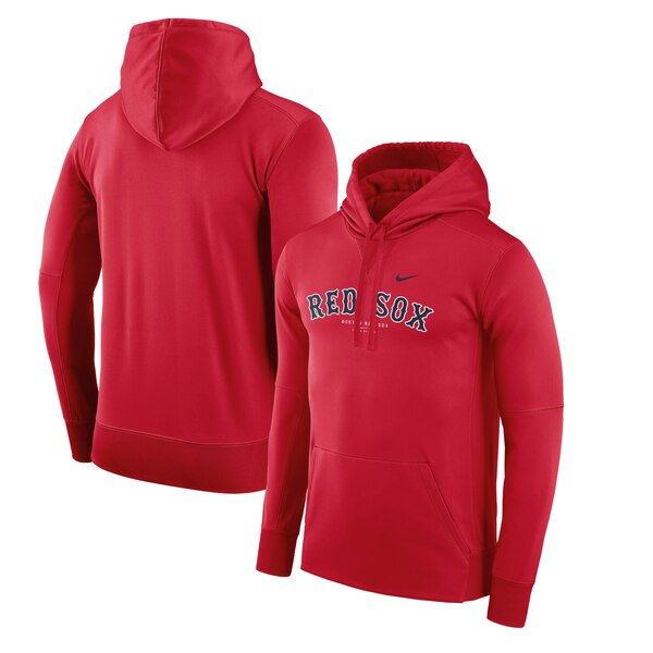 [미국정품] 188904 나이키 MLB팀 후디 맨투맨 집업자켓 Boston Red Sox Nike Fleece Pullover Performance Hoodie - Red