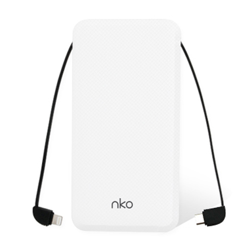 nko T10C 듀얼케이블 보조배터리