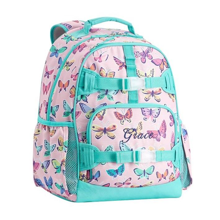 포터리반 맥켄지 스몰 사이즈 백팩 (핑크 나비) 초등 여아 학생 책가방 선물 추천
