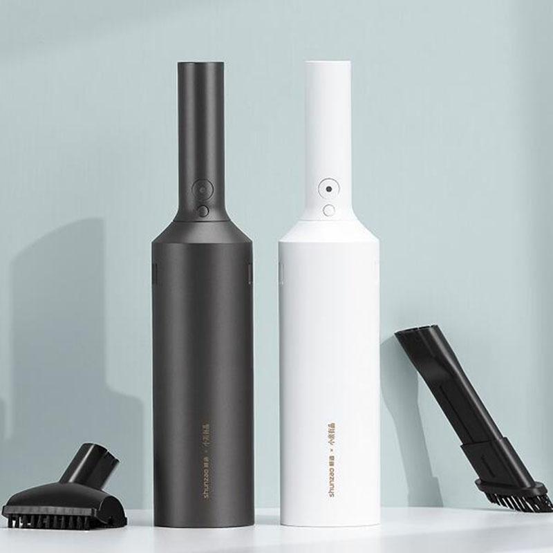 Leading 핸디 무선 청소기 통용 충전식 소형 청소용품 XD2313, 블랙