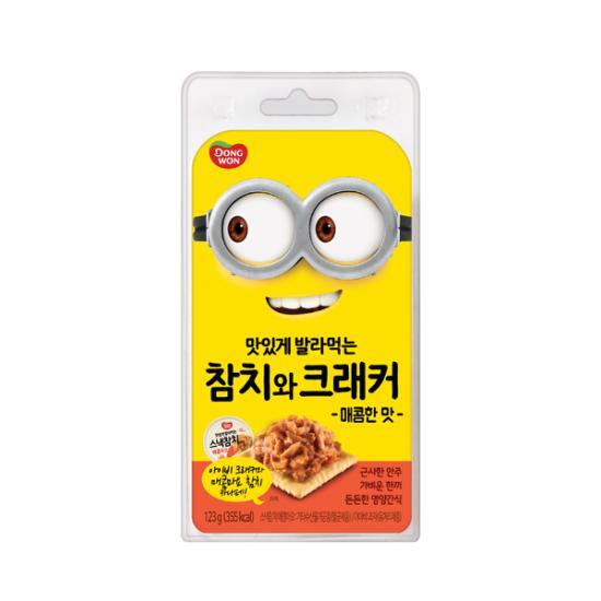 [동원] 참치와 크래커 (매콤마요+아이비크래커), 1개