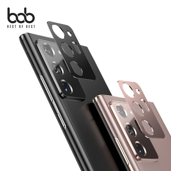 bob 매직쉴드 갤럭시노트20/울트라 카메라렌즈 카툭튀 보호 풀메탈 프로텍터 Note20 Ultra, 실버