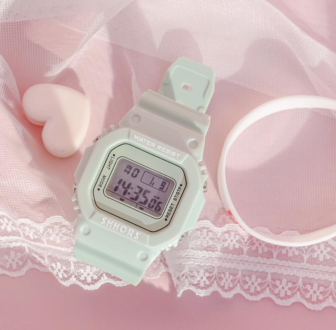투명 패션 시계 여자 남자 학생 방수 10대 친구 생일 선물
