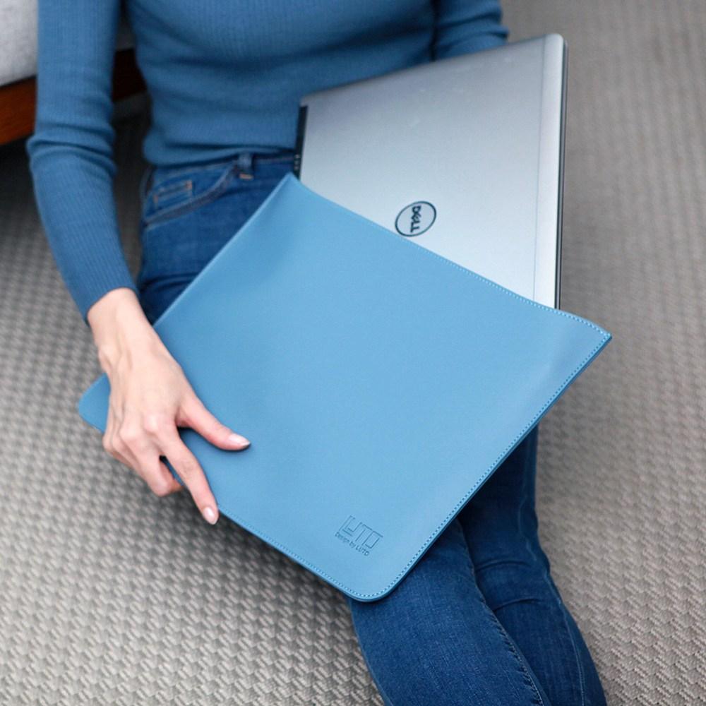 루토 라다나 오픈 13인치 14인치 15인치 16인치 17인치 맥북 LG그램 삼성 노트북 파우치 가방 케이스 갤럭시북 이온 플렉스 올웨이즈 펜S 울트라PC 아우스 HP 레노버 맥북프로 맥북에어, 브라운