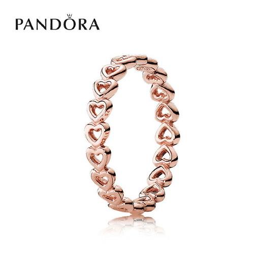 판도라 [PANDORA] 반지 Linked Love Ring 180177