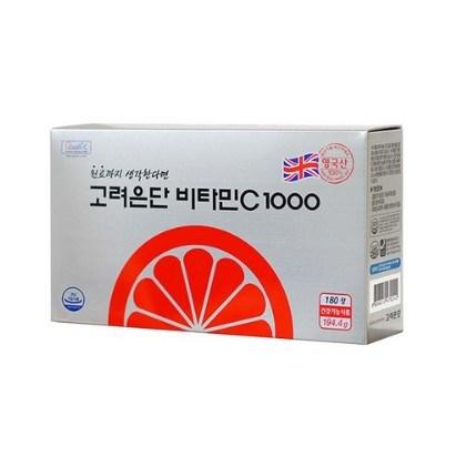 고려은단 비타민C 1000, 180정, 3개