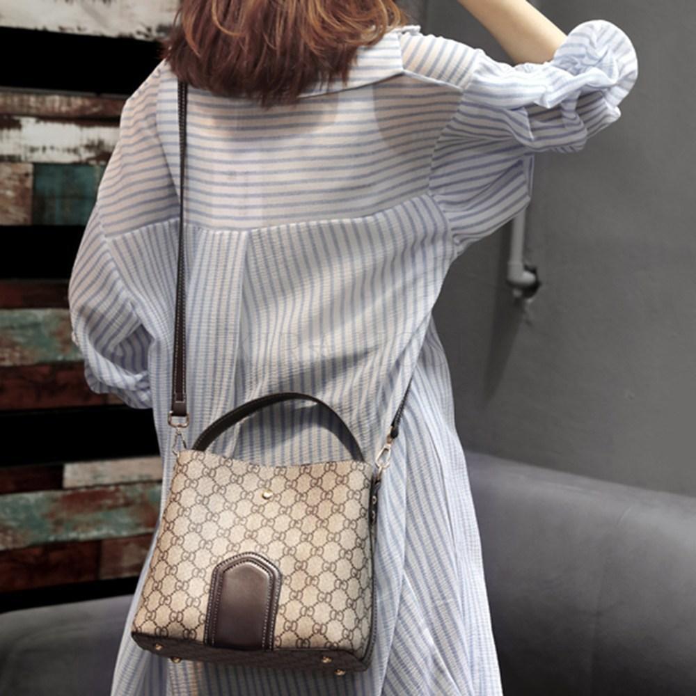 kirahosi 여성 버킷백 핸드백 크로스백 가방 럭셔리 74 ATiq039 A