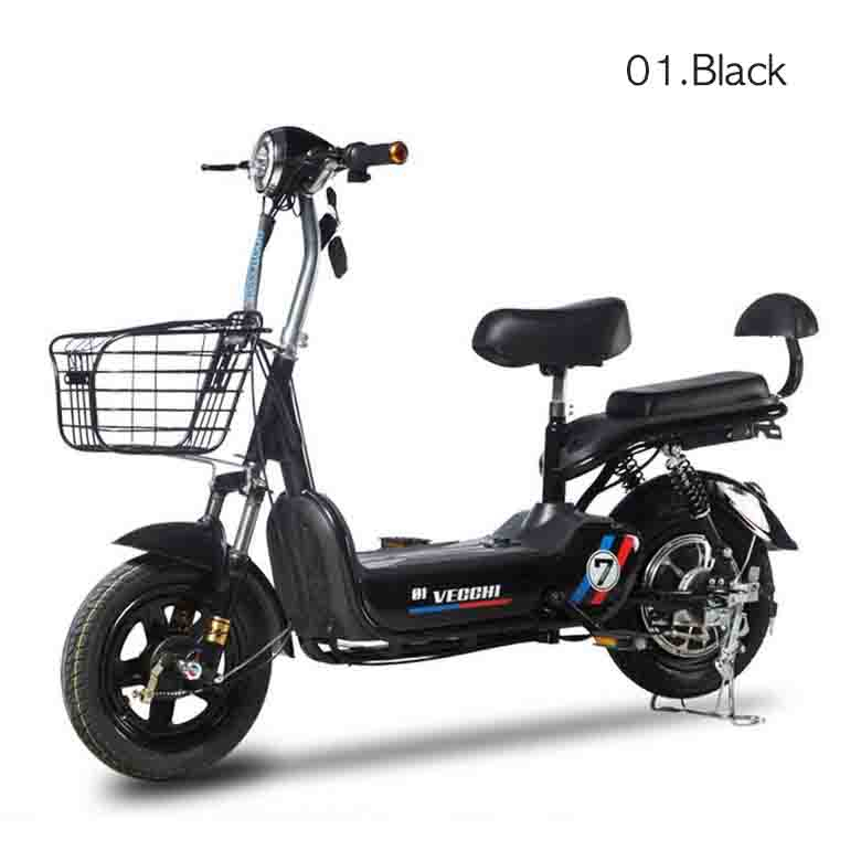 GUANGXIAN 전기자전거 2020 최신형 전동스쿠터 350w 48v GX2007, 01.Black
