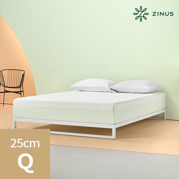 [지누스] 그린티 플러스 메모리폼 매트리스 (25cm/퀸), 상세 설명 참조