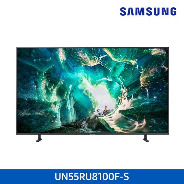 라온하우스 [삼성전자] 프리미엄 55인치 스탠드형 벽걸이형 텔레비전 tv/티브이/UHD 4K TV/LED TV/기사무료설치, 벽걸이형 UN55RU8100FXKR, 기사무료설치