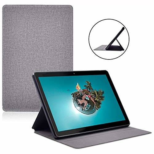 Tablet Case Multi-Angle Viewing Shock Proof Lightweight Leath/285348, 상세내용참조