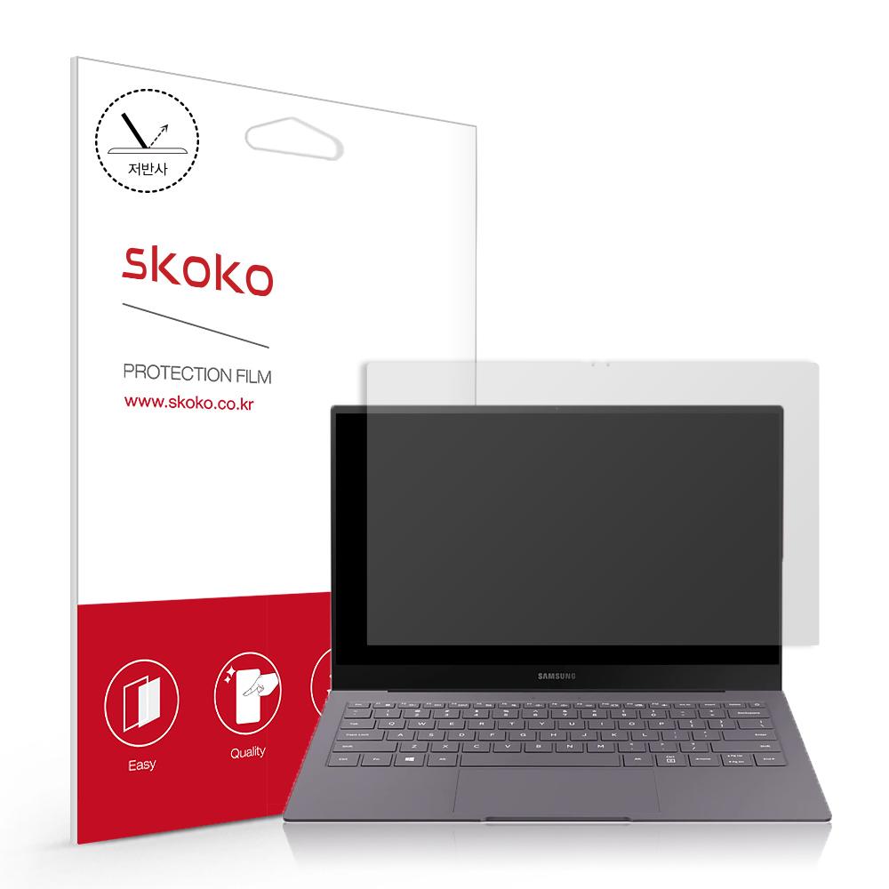 스코코 삼성 갤럭시북S SM-W767N 저반사 액정보호필름, 단품