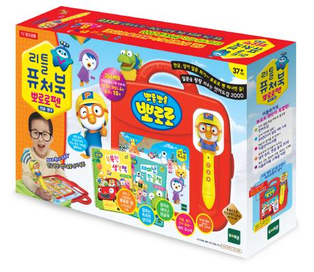 뽀롱뽀롱 뽀로로 리틀 퓨처북 뽀로로펜 세트, 레드