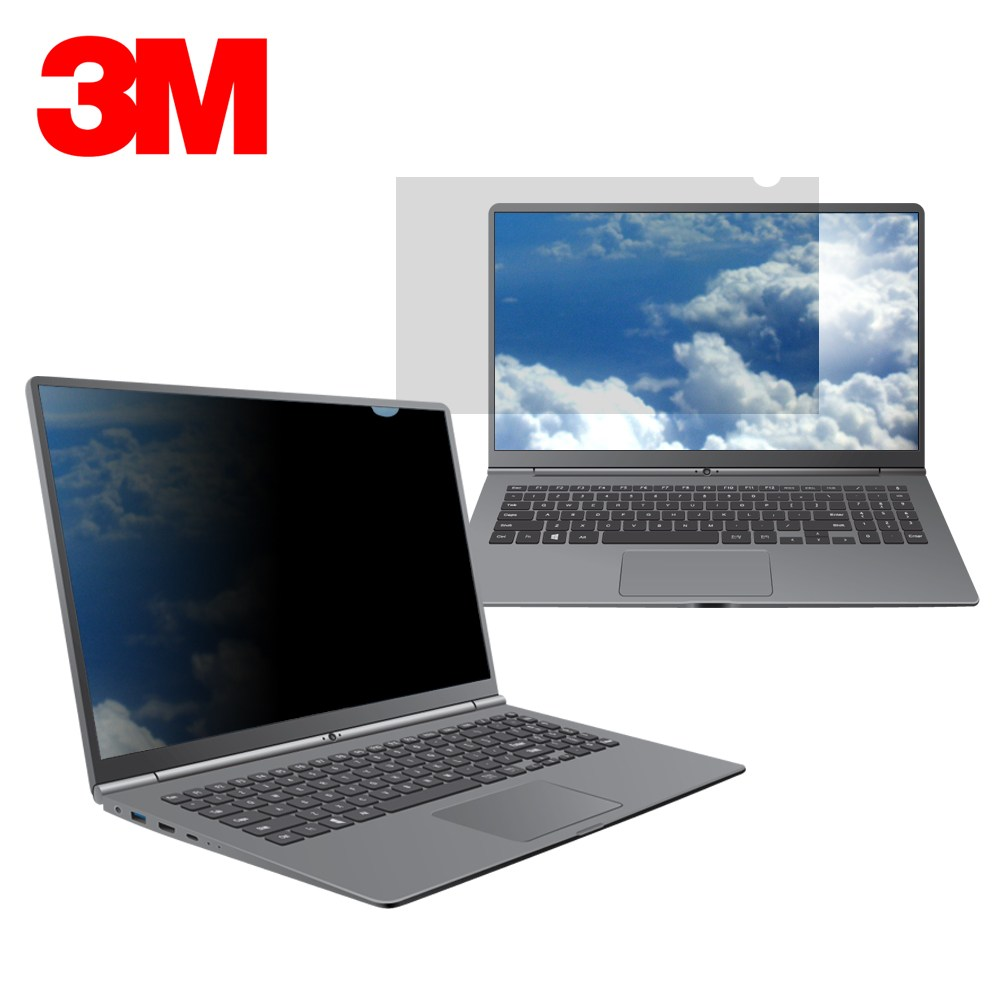 3M 정품 11.6W9 12.5W9 13.3W9 14.0W9 15.6W9 보안필름 블루라이트 차단 정보보호 필터 보안기 보호필름, 1장