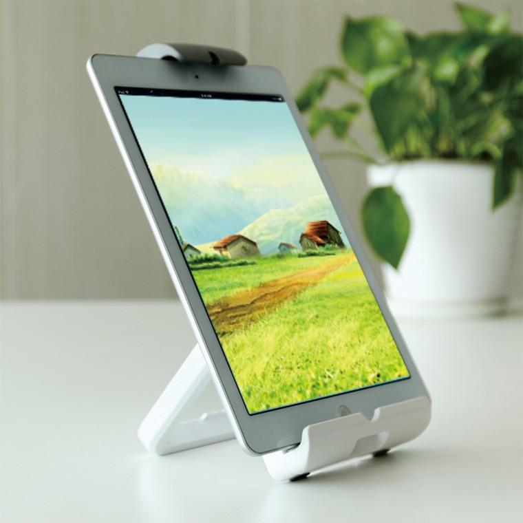 태블릿 아이패드 월마운트 침대거치대 휴대용모니터 거치대, 단일색상, 거치대