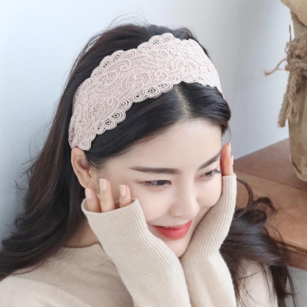 미스21 모티브 레이스 헤어밴드 머리띠 (hb983)