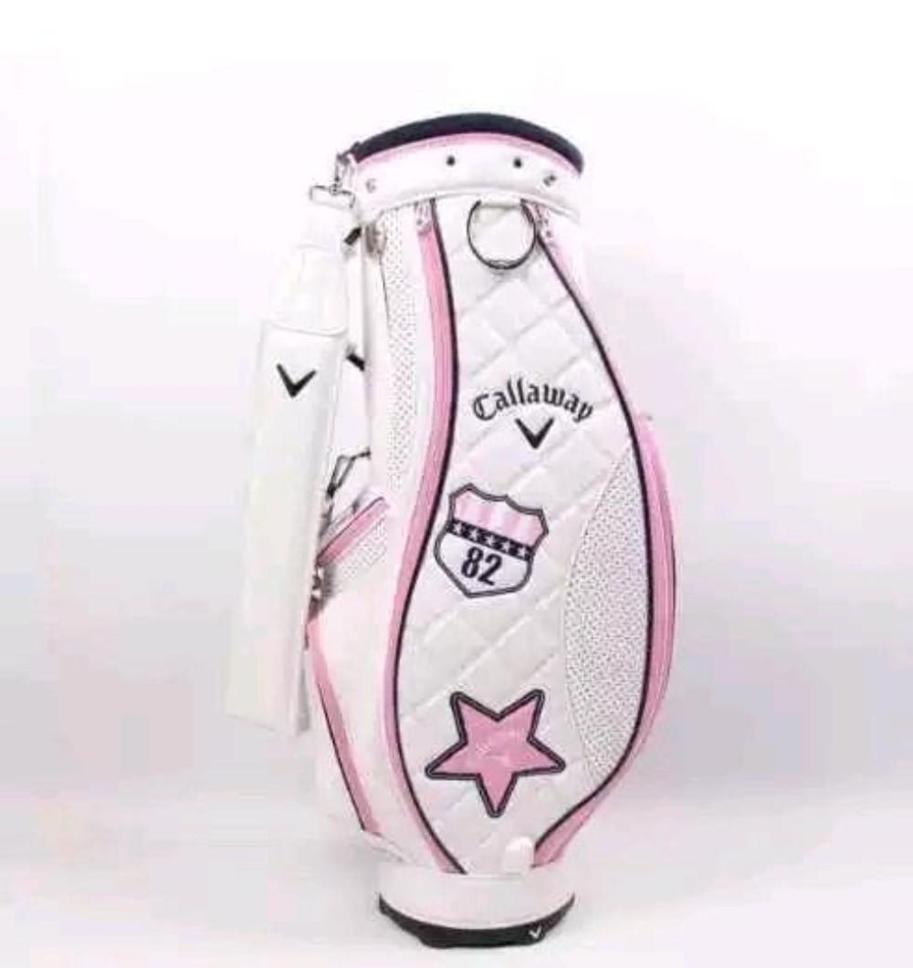 캐디백 여성 골프백 golf 캐디백, 핑크-27-4867266581
