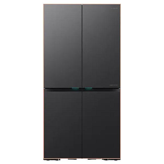 삼성전자 RF10T9965APG 셰프컬렉션 냉장고 900L 카퍼 프레임 푸드쇼케이스 오토필 정수기, 혼드 네이비, 패밀리+쿡