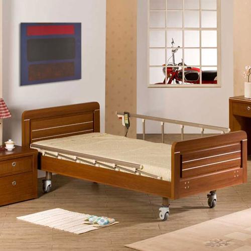 AURORA 전동침대 병원용 가정용 의료용 2모터 전동침대+매트리스 H660-2, 1개 (POP 219425753)
