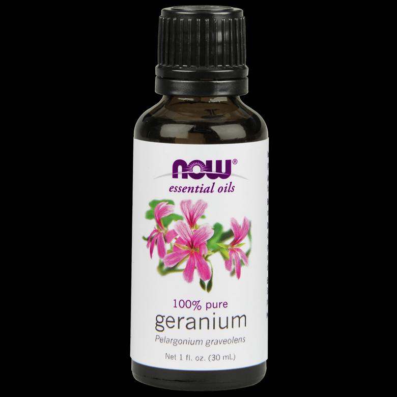나우푸드 퓨어 에센셜 방향아로마오일, Geranium