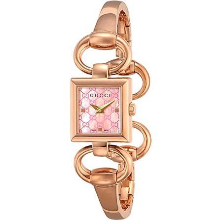 [구찌] 시계 토루나보 두 핑크 펄 문자판 YA120520 병행 수입품 골드 9999993341649