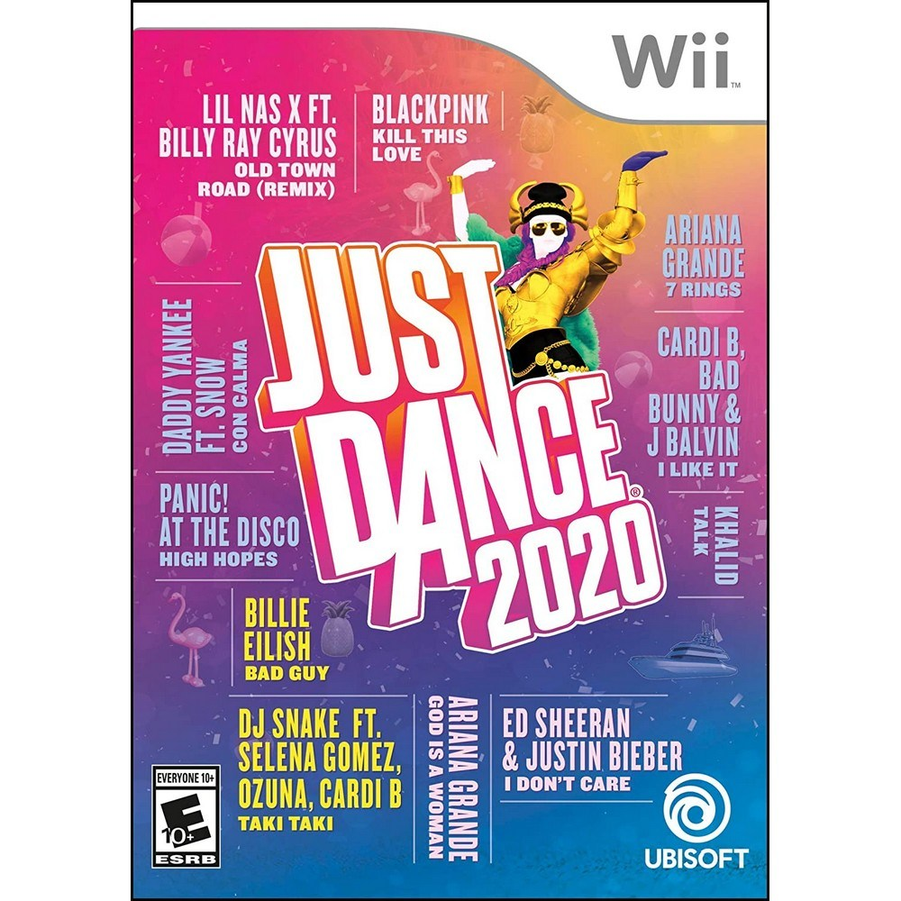 Wii 저스트 댄스 2020 북미판 Just Dance, 단일 상품