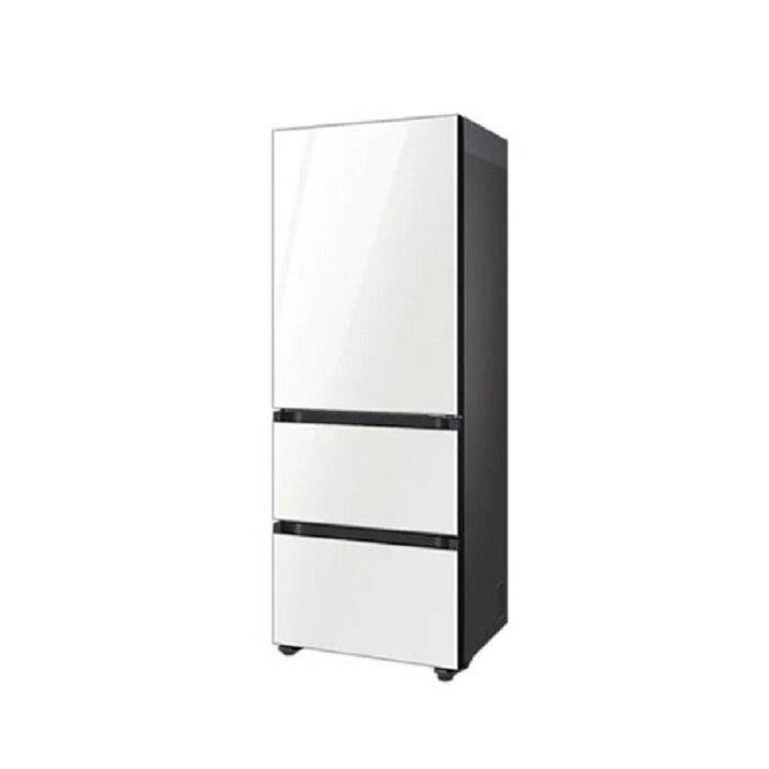 [삼성] 비스포크 김치플러스 3도어 김치냉장고 313L 글램화이트 RQ33T741235