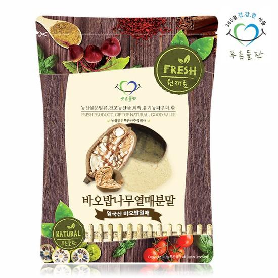 영국산 바오밥 나무 열매 분말 300g 가루, 상세설명 참조, 없음